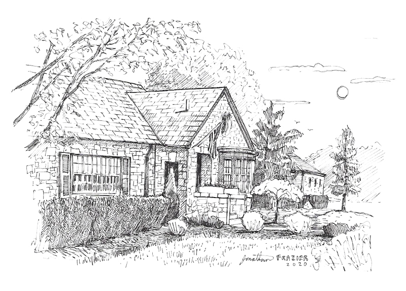 Kevin Hancock house